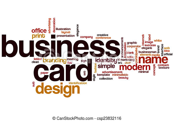 Business card word cloud concept business card word cloud csp23832116 reheart Choice Image