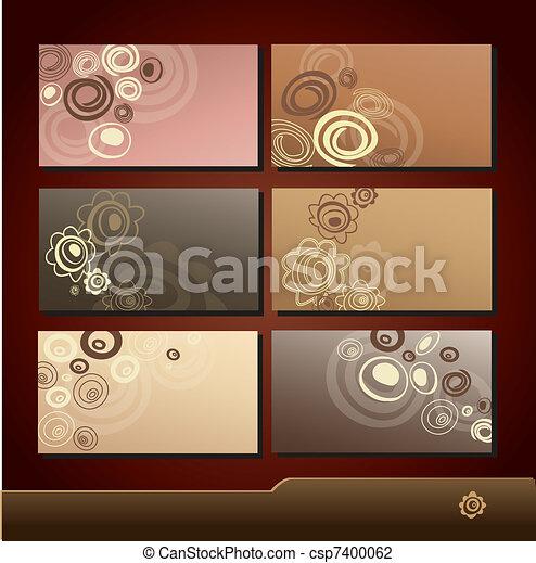 business cards 8 - csp7400062