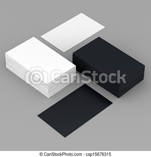 Business cards blank - csp15676315