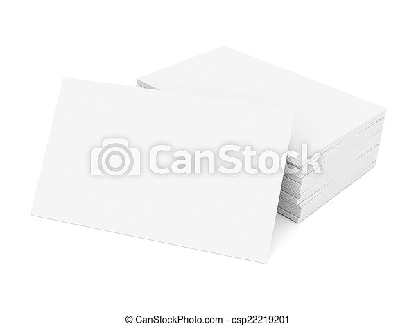 Business cards blank - csp22219201