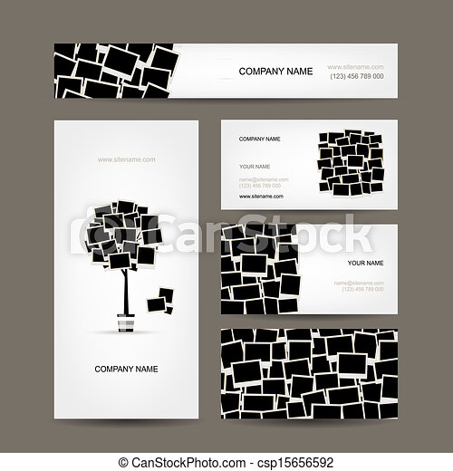 Business cards design photo frames eps vectors search clip art business cards design photo frames colourmoves