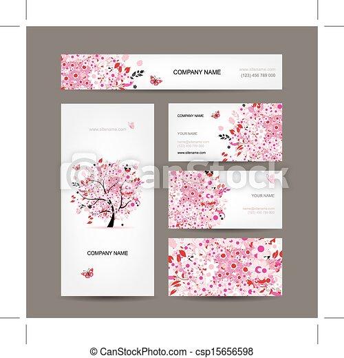 Cherry blossom business cards kubreforic cherry blossom business cards colourmoves