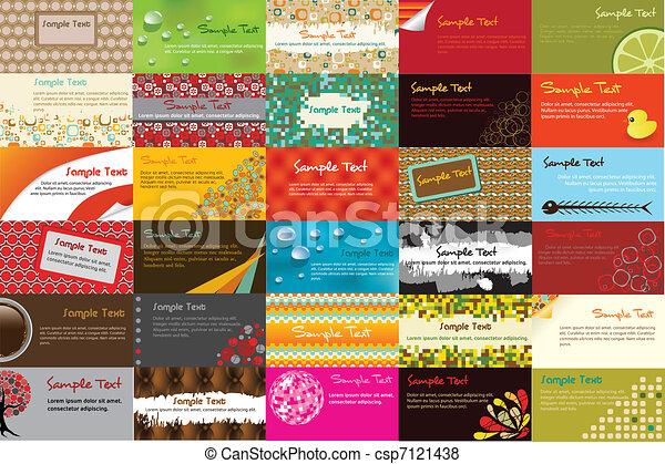 business cards - csp7121438