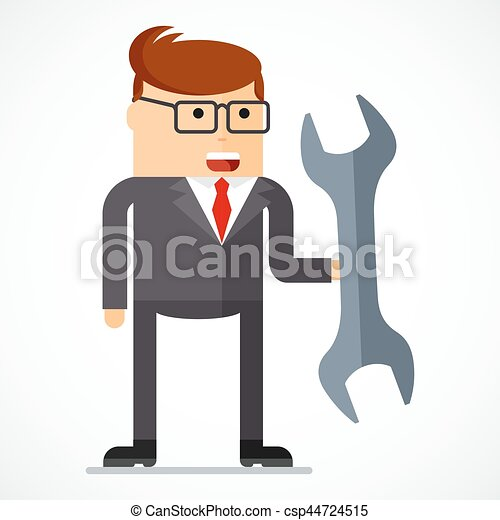 business character tools - csp44724515