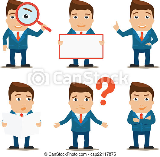 Business characters set - csp22117875