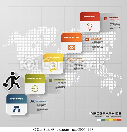 Abstract business chart 5 steps diagram templategraphic or website abstract business chart 5 steps diagram templategraphic or website layout vector step by step idea ccuart Choice Image