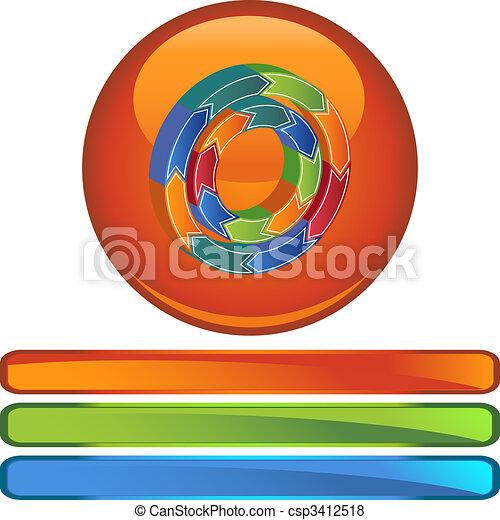 Business Chart - csp3412518