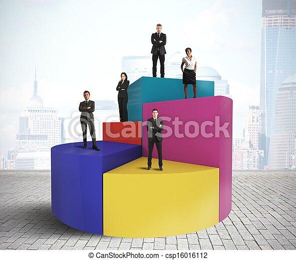 Business chart - csp16016112