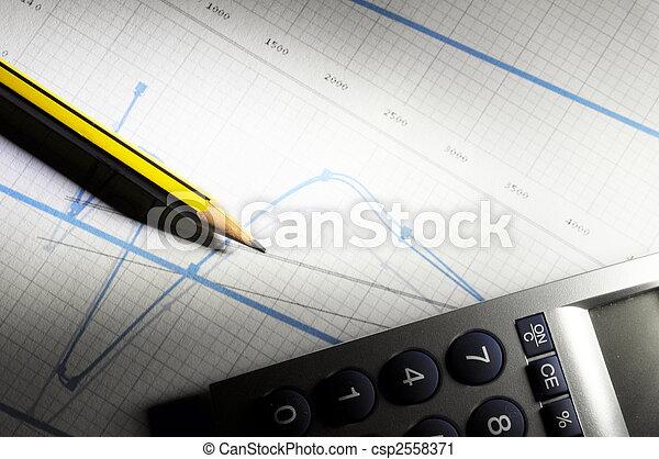 business chart  - csp2558371