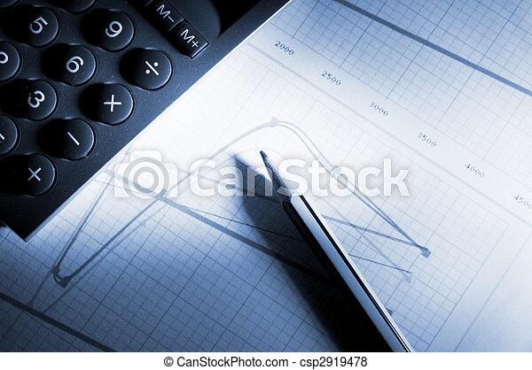 business chart  - csp2919478