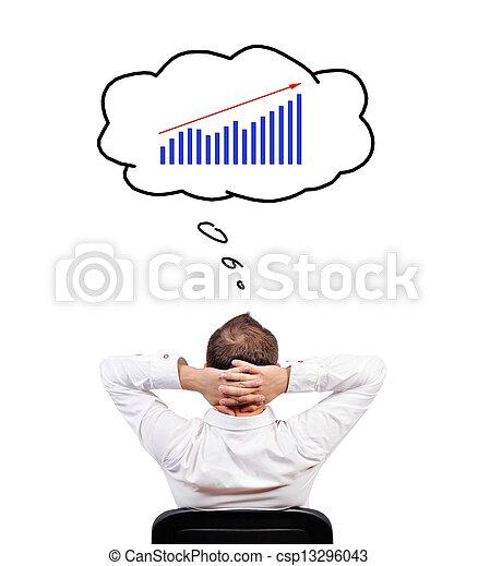 business chart - csp13296043