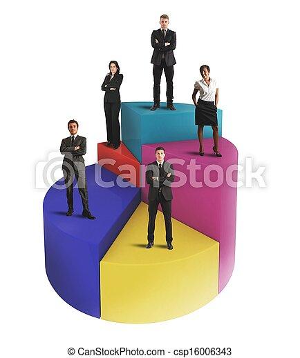 Business chart - csp16006343