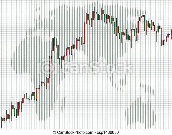 Business charts, Candlestick - csp1488850