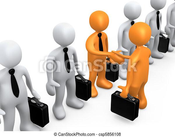 Business Choice - csp5856108