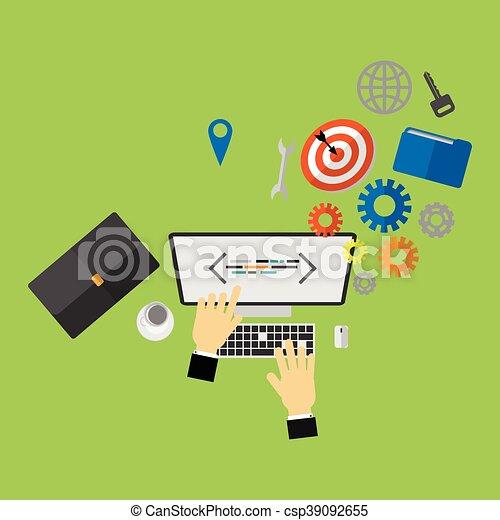 Business - csp39092655