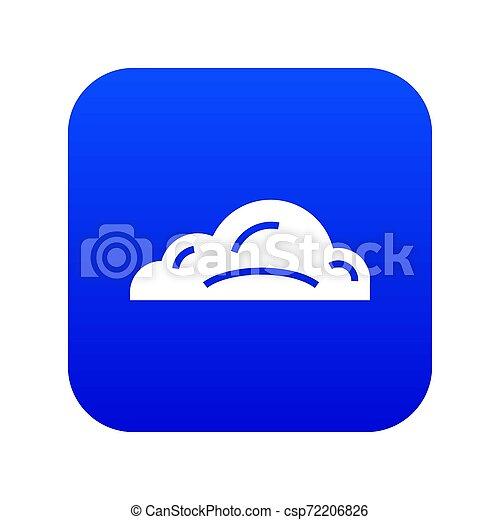 Business cloud icon blue - csp72206826