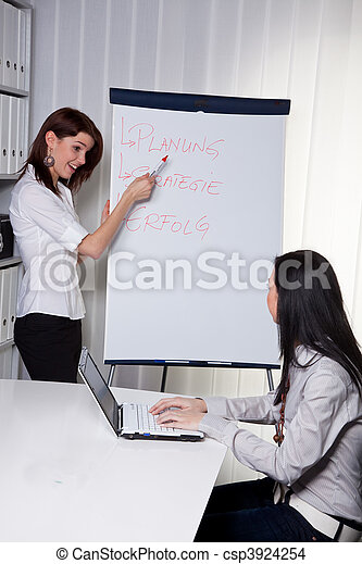 Business Coaching for and by young women - csp3924254