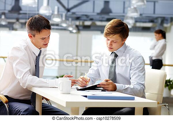 Business coaching - csp10278509