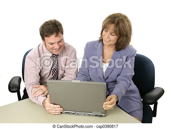 Business Colleagues at Work - csp0390817