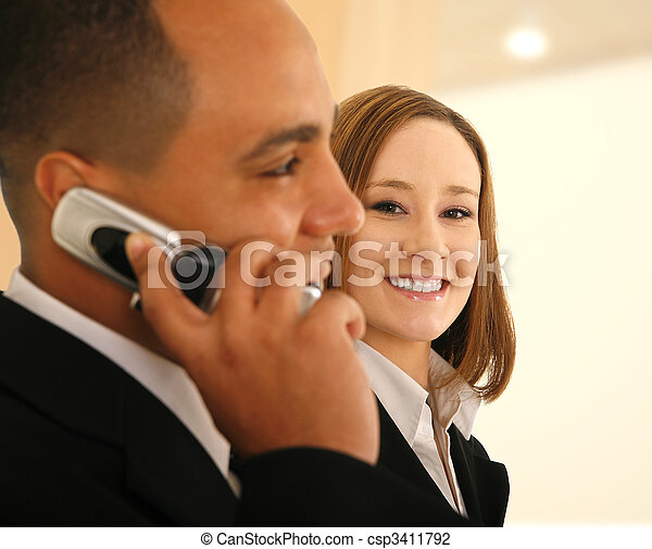 Business Communication And Service - csp3411792