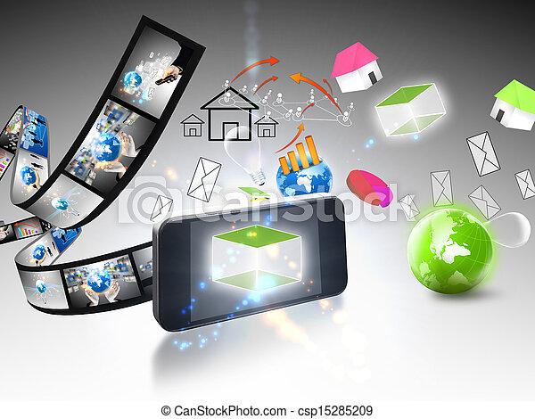 business communication - csp15285209