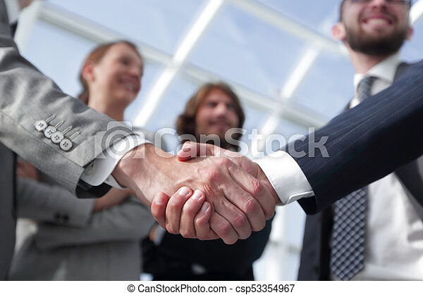 business concept handshake business people - csp53354967