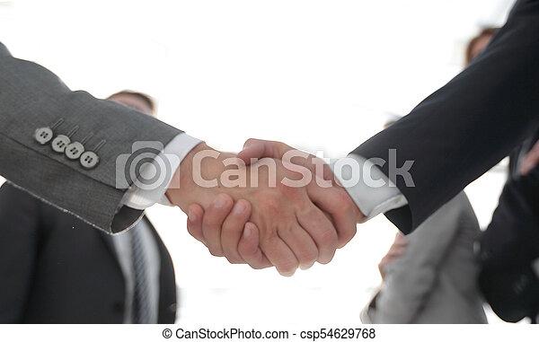 business concept handshake business people - csp54629768