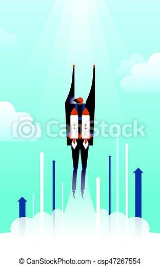 business concept illustration - csp47267554