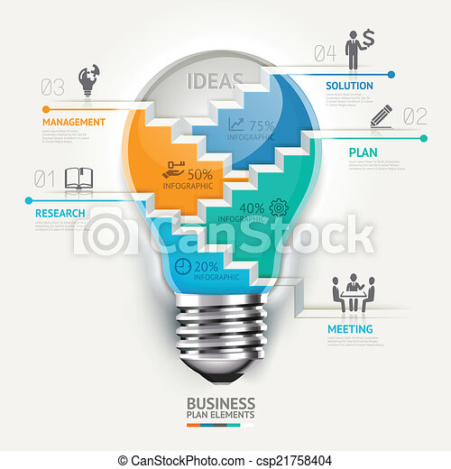 Business concept infographic. - csp21758404