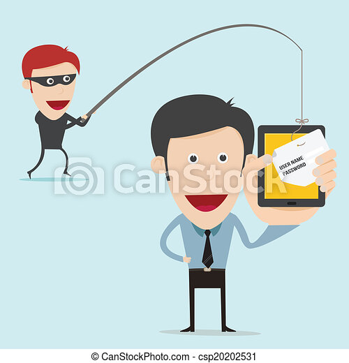 business concept of internet scam with phising - csp20202531