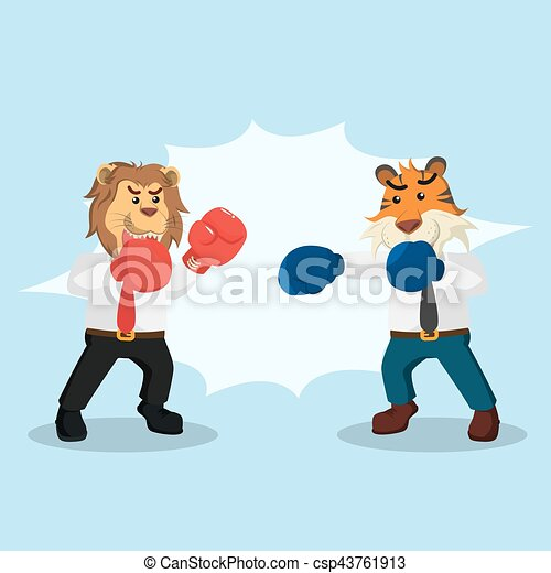 business, conception, combat, illustration, animal - csp43761913