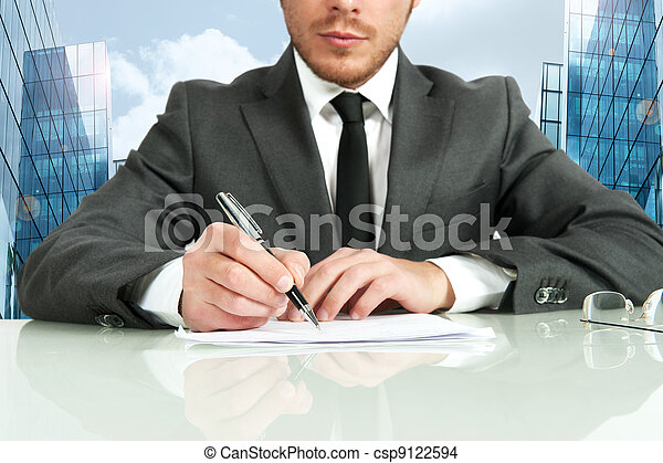 Business contract - csp9122594