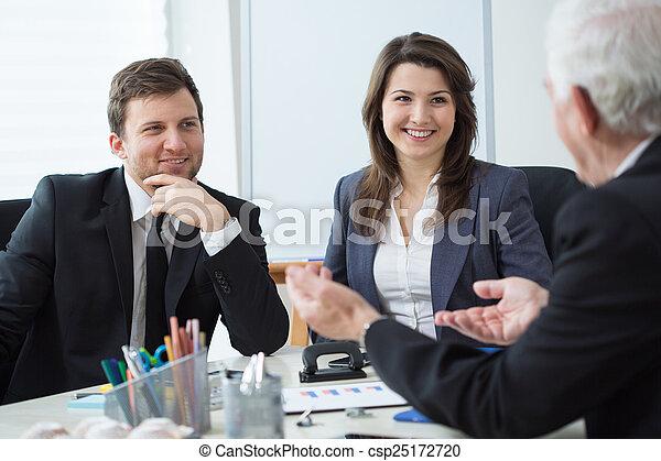 Business conversation - csp25172720