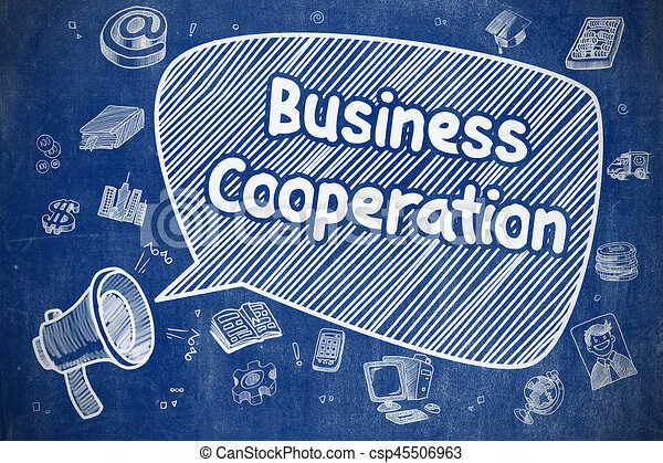 Business Cooperation - Business Concept. - csp45506963