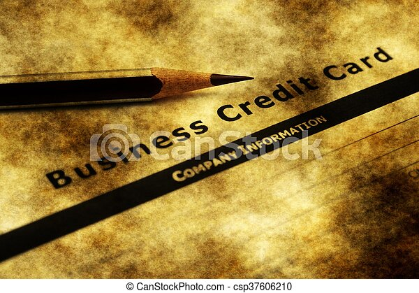 Business credit card application business credit card application csp37606210 reheart Gallery