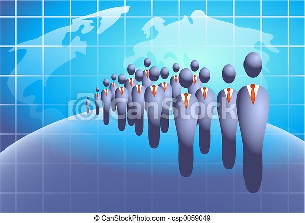 Business Crowd - csp0059049