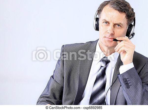 business customer support - senior advisor over white  - csp6892985