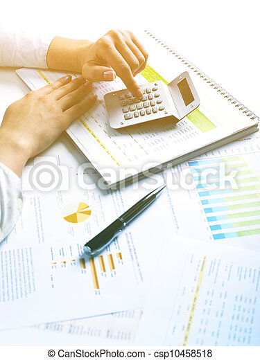 Business Data Analyzing - csp10458518