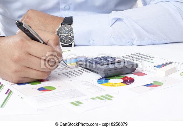 Business Data Analyzing - csp18258879