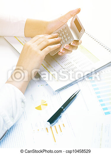 Business Data Analyzing - csp10458529