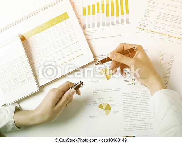 Business Data Analyzing - csp10460149