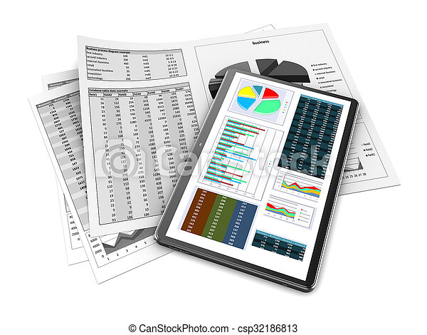 business data - csp32186813