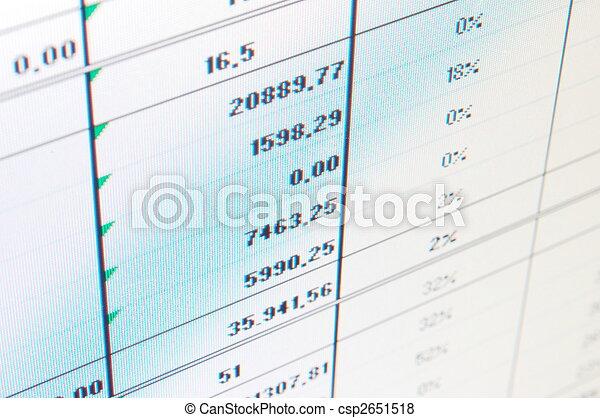business data - csp2651518