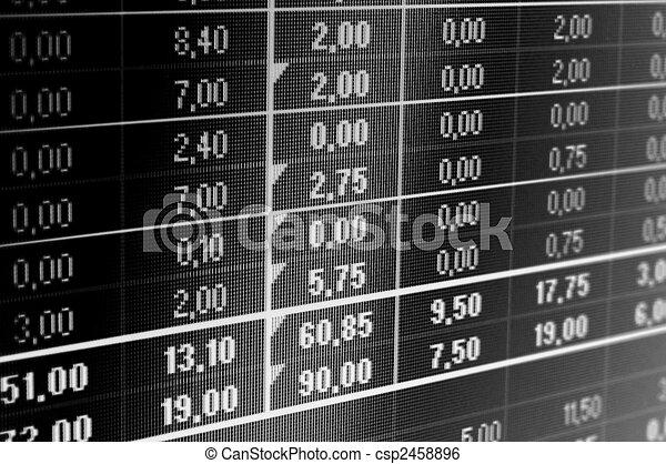 business data - csp2458896