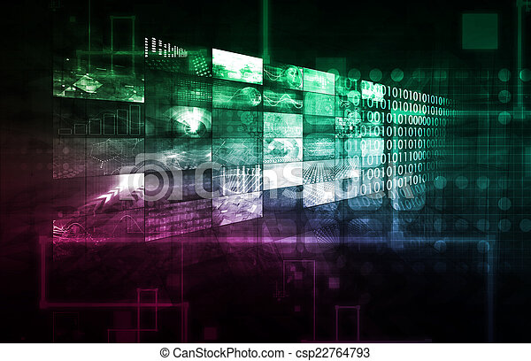 Business Data - csp22764793