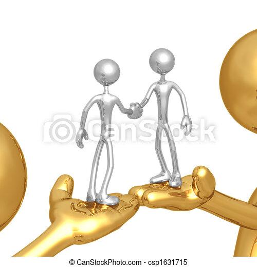 Business Deal Assistance - csp1631715