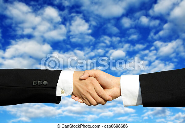 Business deal - csp0698686