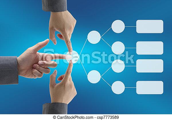 business decision team - csp7773589