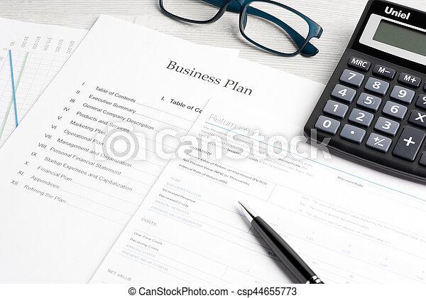 Business document - csp44655773