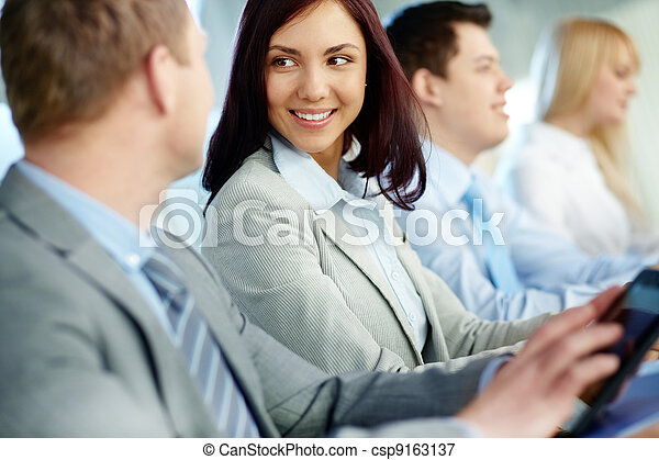 Business education - csp9163137
